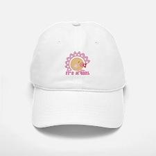 It's A Girl Baseball Baseball Cap
