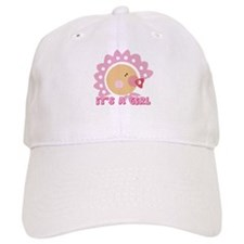 It's A Girl Baseball Cap