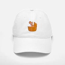 Basket of Baby Baseball Baseball Cap