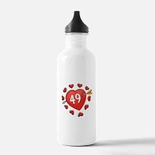 49th Valentine Water Bottle