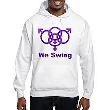 "Swinger Symbol-""We Swing"" Jumper Hoody"