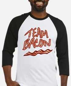 Team Bacon for Him Baseball Jersey