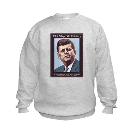 JFK - Measure Kids Sweatshirt