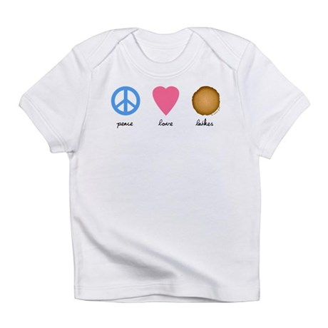 Peace Love Latkes Infant T-Shirt
