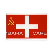 Cute Obama socialism Rectangle Magnet