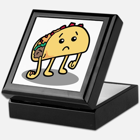 Sad Taco Keepsake Box