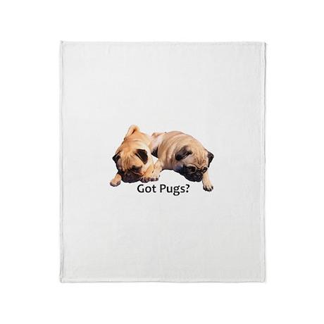 Got Pugs? Throw Blanket