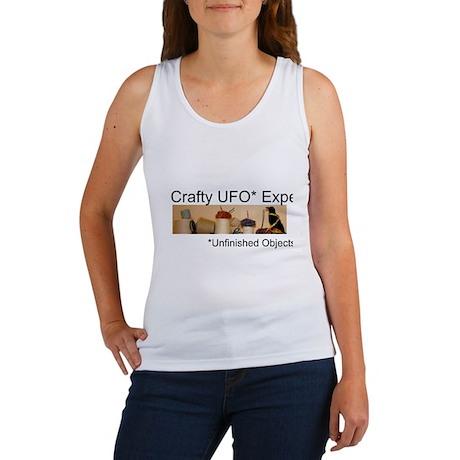 Crafty UFO Expert Women's Tank Top