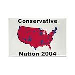 Conservative Nation 2004 Rectangle Magnet (10 pk)