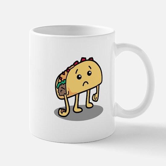 Sad Taco Mugs