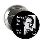 Button (10 pack): Saving Your Ass
