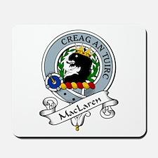 MacLaren Clan Badge Mousepad