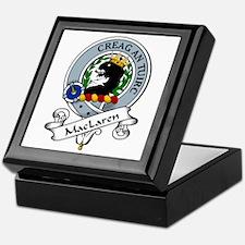 MacLaren Clan Badge Keepsake Box
