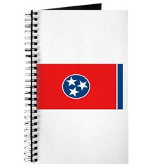Tennessee Blank Flags Journal