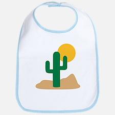 Desert cactus Bib