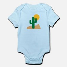 Desert cactus Infant Bodysuit