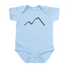 Mountains Infant Bodysuit