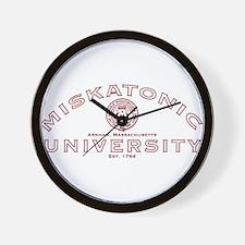 Miskatonic University Wall Clock
