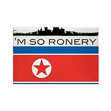 Cool Kim jong il Rectangle Magnet