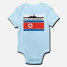 Cute Kim jong il Infant Bodysuit