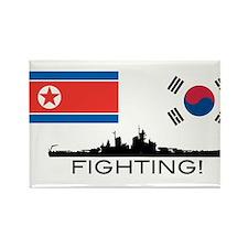 Funny Kim jong il Rectangle Magnet