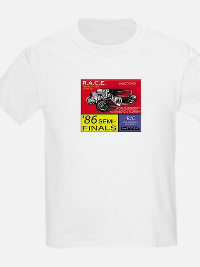 VINTAGE RC RACE EVENT Kids T-Shirt