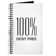 100 Percent Debt Free Journal