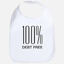 100 Percent Debt Free Bib