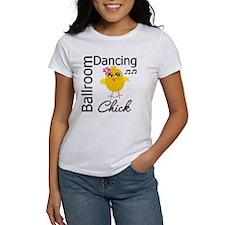 Ballroom Dancing Chick Tee