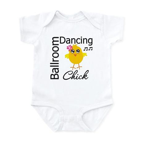 Ballroom Dancing Chick Infant Bodysuit
