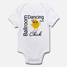 Ballroom Dancing Chick Infant Bodysuit