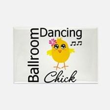Ballroom Dancing Chick Rectangle Magnet