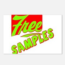 Free Samples Postcards (Package of 8)