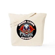 Evil Clown Tote Bag