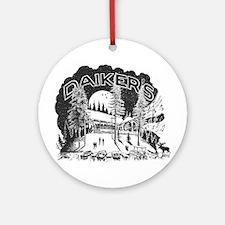 Daiker's Logo Ornament (Round)