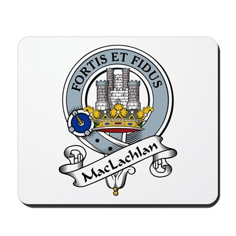 MacLachlan Coat of Arms Mousepad