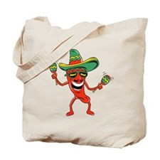 Hot Mexican Pepper Tote Bag