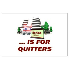 Rehab For Quitters Posters