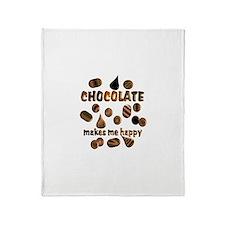 Chocolate Throw Blanket