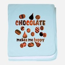 Chocolate baby blanket