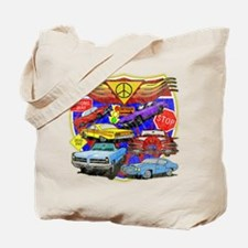 Classic Muscle Cars Tote Bag