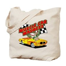 Muscle Car Madness Tote Bag