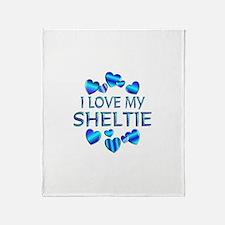 Sheltie Throw Blanket