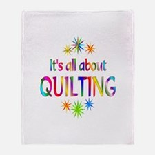 Quilting Throw Blanket