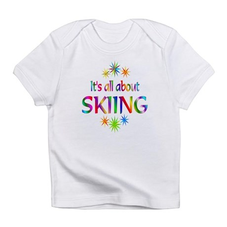 Skiing Infant T-Shirt