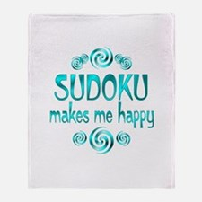 Sudoku Throw Blanket