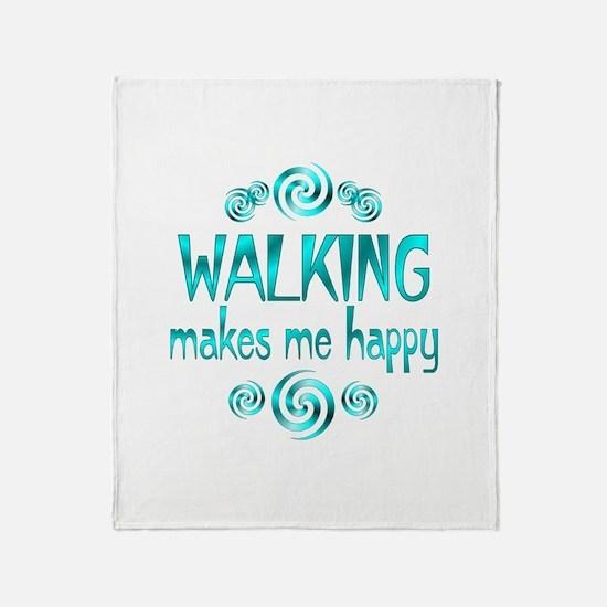 Walking Throw Blanket
