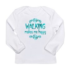 Walking Long Sleeve Infant T-Shirt