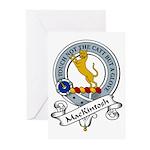 ManKintosh Clan Badge Greeting Cards (Pk of 10