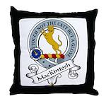 ManKintosh Clan Badge Throw Pillow